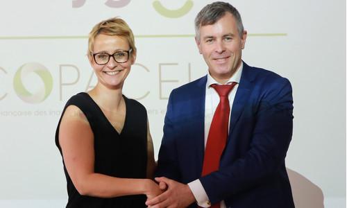 La signature d'un accord Recygo-COPACEL